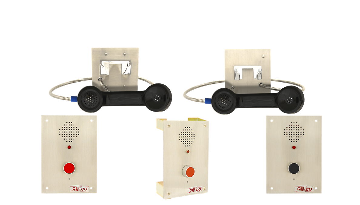 SSP 350/550 Flush Mount Telephones