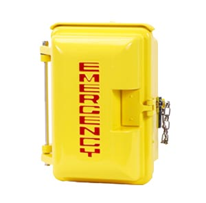 331-005-Y: Yellow Weatherproof Housing