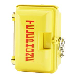 331-005-Y-TEL: Yellow Weatherproof Housing